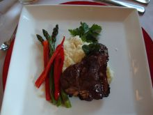 Amazing cuisine by chef Shirley Lang of Kitchens of Distinction