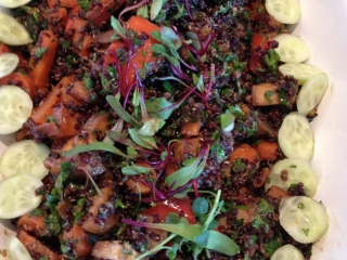 Quinoa Salad with Veggies