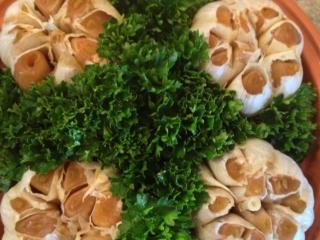 Creole Roasted Garlic