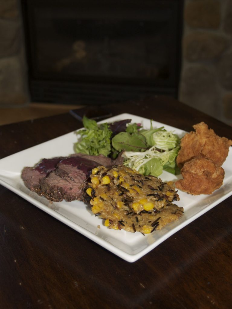 Stunning cuisine by Chef Shirley Lang of Kitchens of Distinction