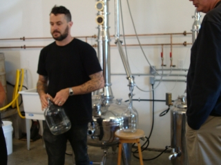 Chef Jason MacIssac at Sheringham Distillery